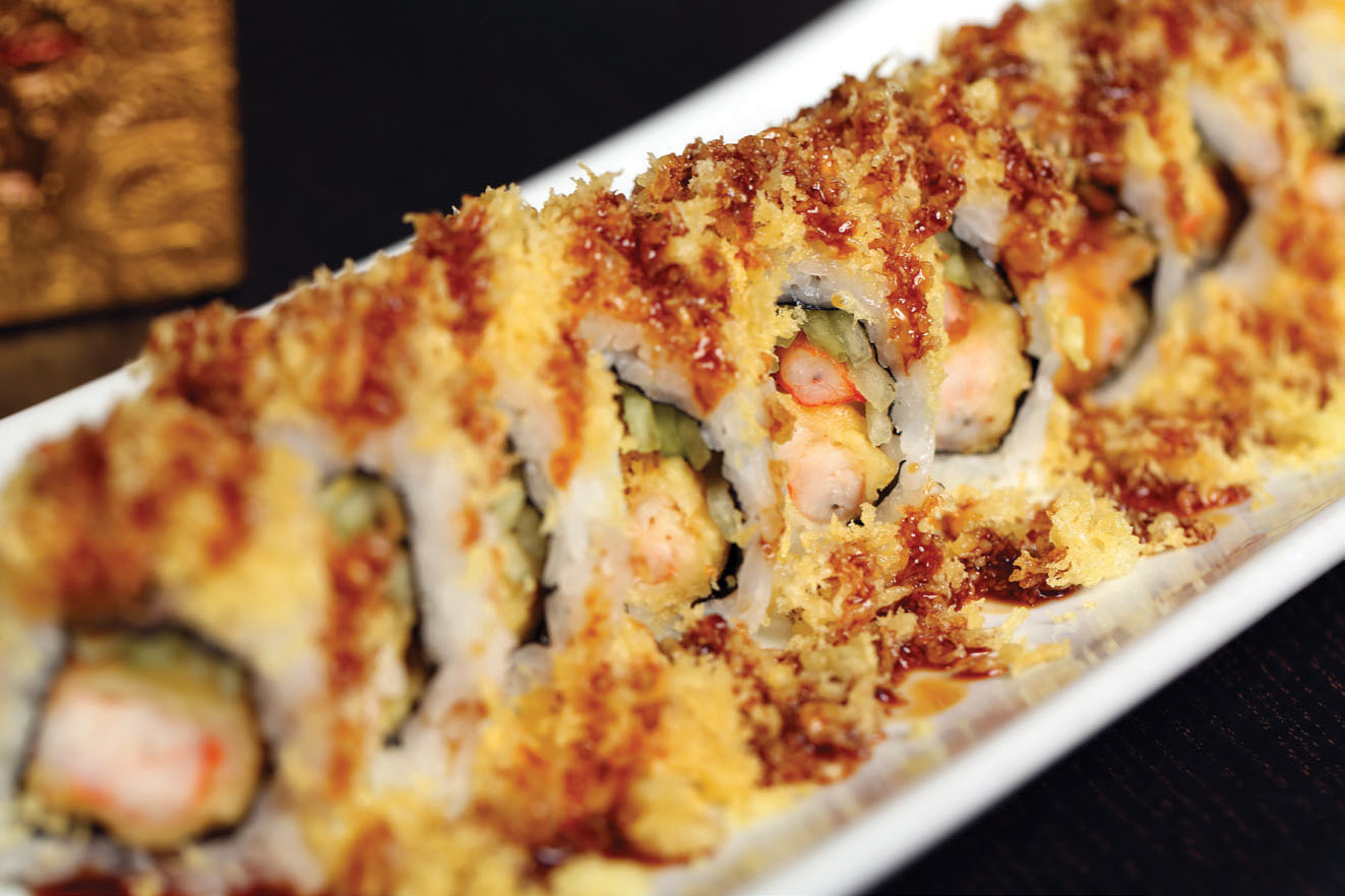 Special Rolls Sushionfire Sushi station nutrition facts and nutritional information. sushi on fire